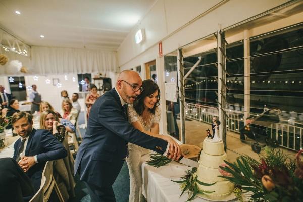 124148 low key sydney wedding at kuring gai motor yacht club by kevin lue