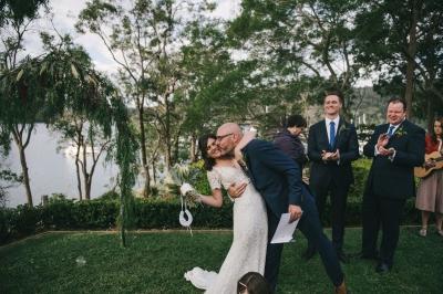 124181 low key sydney wedding at kuring gai motor yacht club by kevin lue