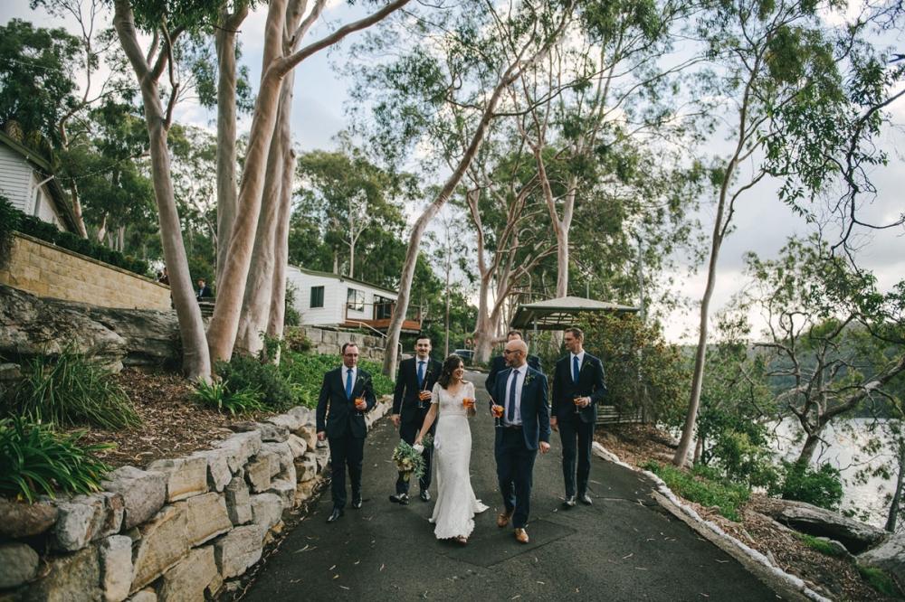 124190 low key sydney wedding at kuring gai motor yacht club by kevin lue