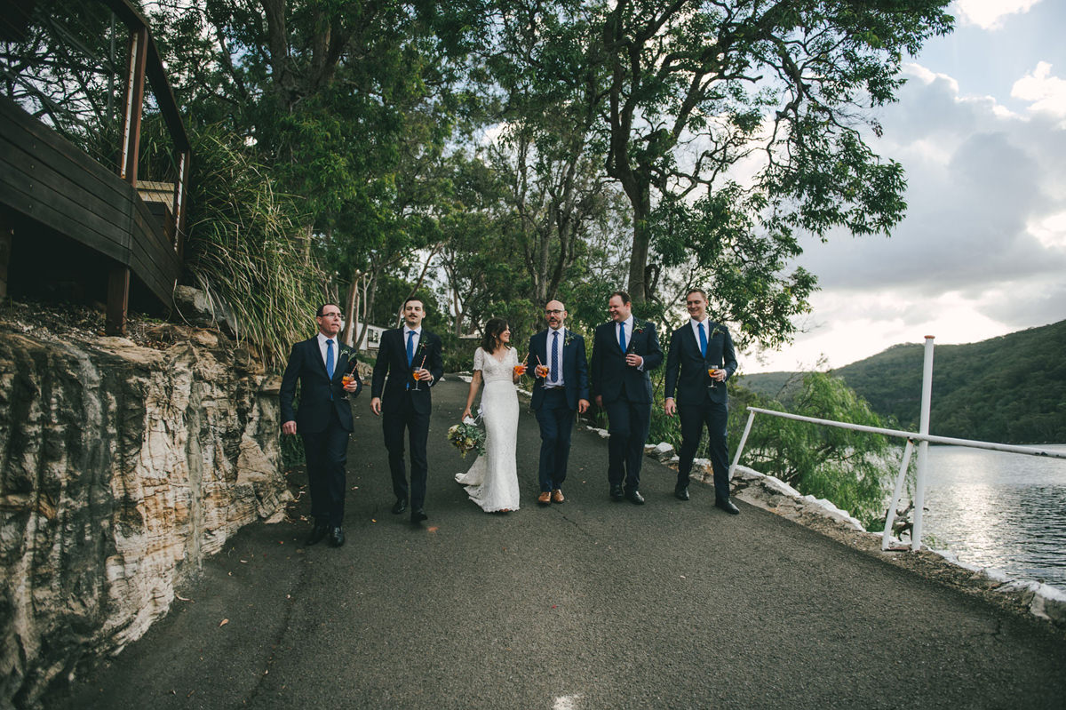 124191 low key sydney wedding at kuring gai motor yacht club by kevin lue