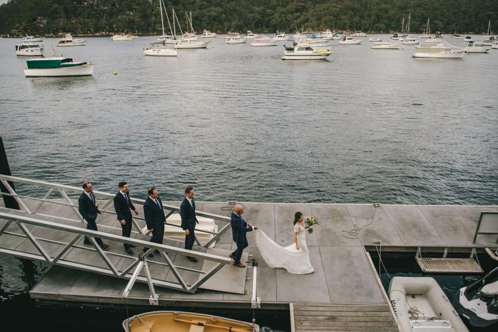 124192 low key sydney wedding at kuring gai motor yacht club by kevin lue