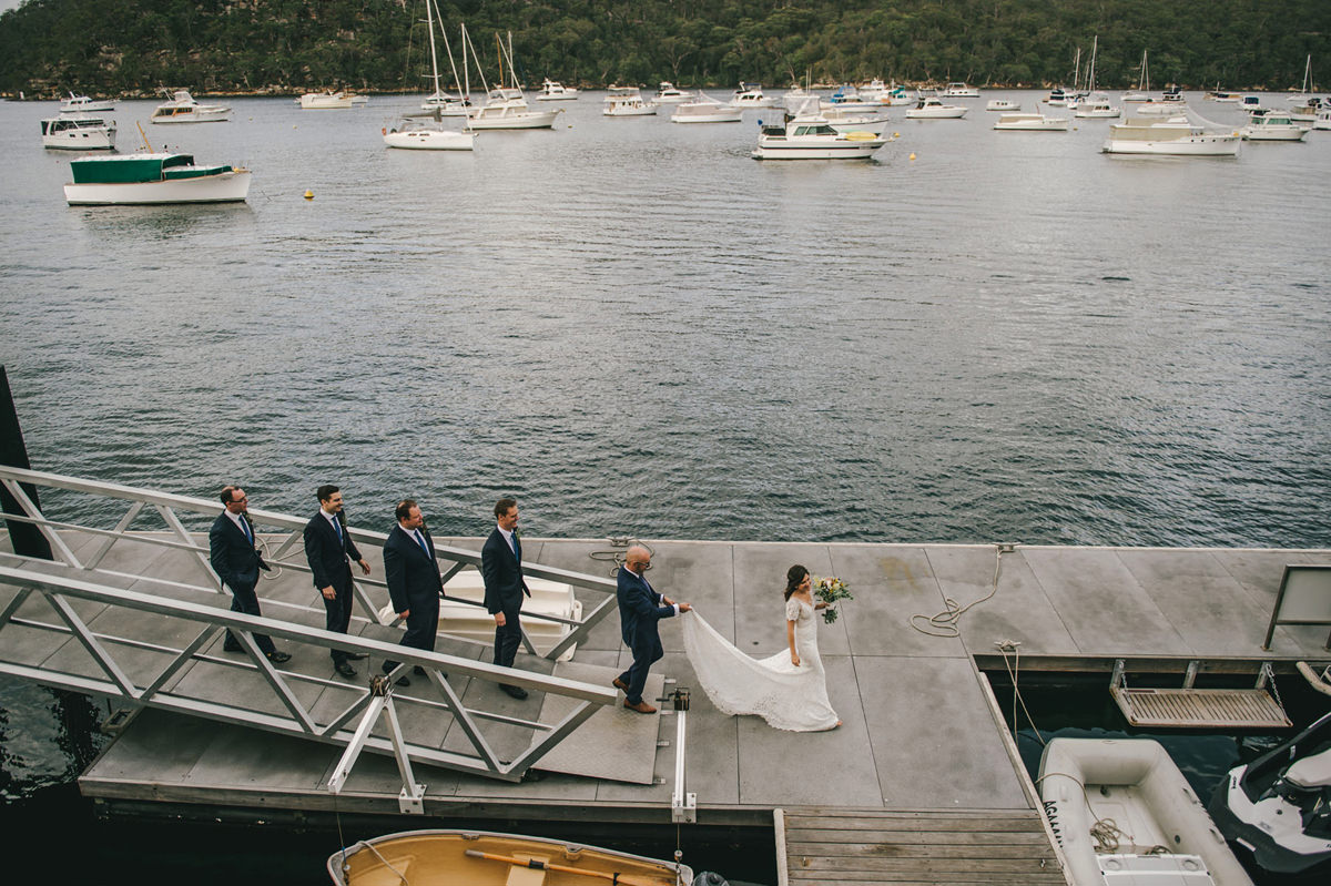 124192 low key sydney wedding at kuring gai motor yacht club by kevin lue