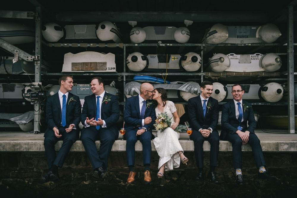 124194 low key sydney wedding at kuring gai motor yacht club by kevin lue