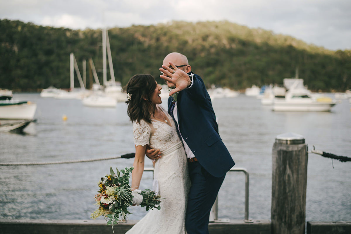 124195 low key sydney wedding at kuring gai motor yacht club by kevin lue