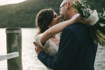 124196 low key sydney wedding at kuring gai motor yacht club by kevin lue