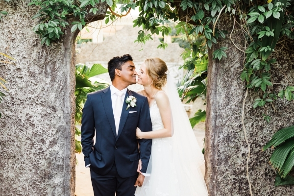 Stories With Mel via Ellie & Tharindu Whitsundays Wedding at Villa Botanica