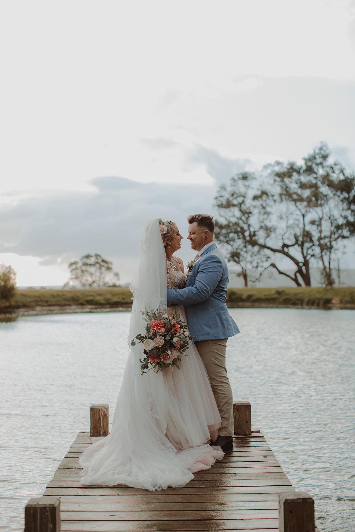 Eclectic Rustic Wedding At Tanglewood Estate Polka Dot Wedding