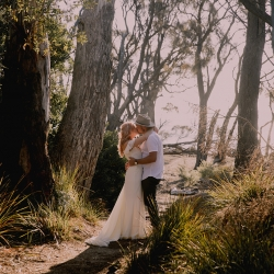 Tasmania is a beautiful place to get married or have your honeymoon. Via Freycinet Lodge