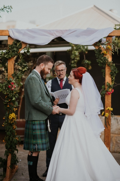 Modern Rustic Scottish Wedding - Polka Dot Bride