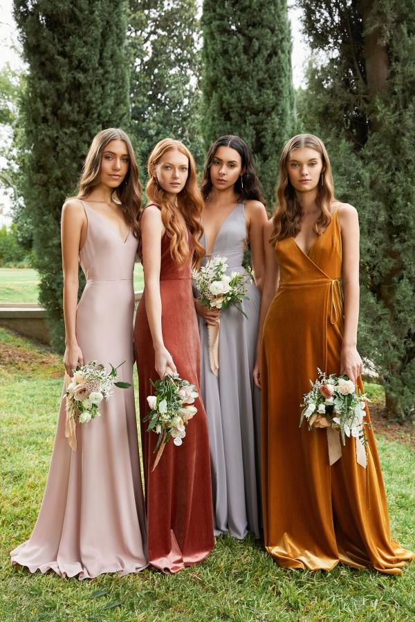2020 Autumn/Winter Trends in Bridesmaid