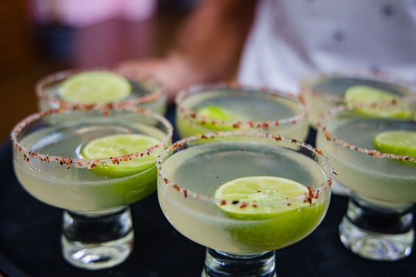 Palm Springs themed party drinks
