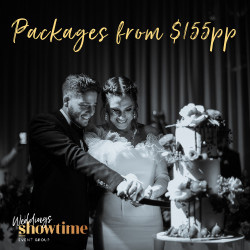 Showtime Event Centre Weddings banner