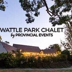 Wattle Park Chalet Groom banner