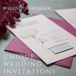 A Tactile Perception Weddings banner