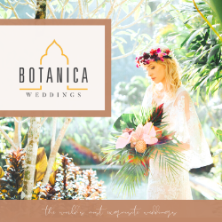 Botanica Weddings - Bali  Honeymoons banner