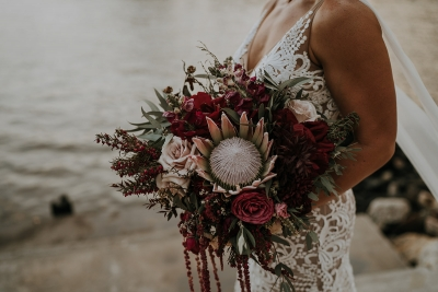 Brisbane wedding bouquet by Daisy Co