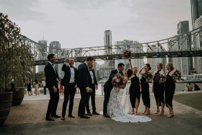 Brisbane city wedding photos