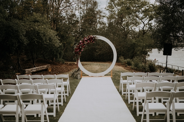 Brisbane city wedding decor