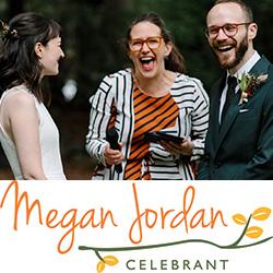 Megan Jordan Celebrant Made banner