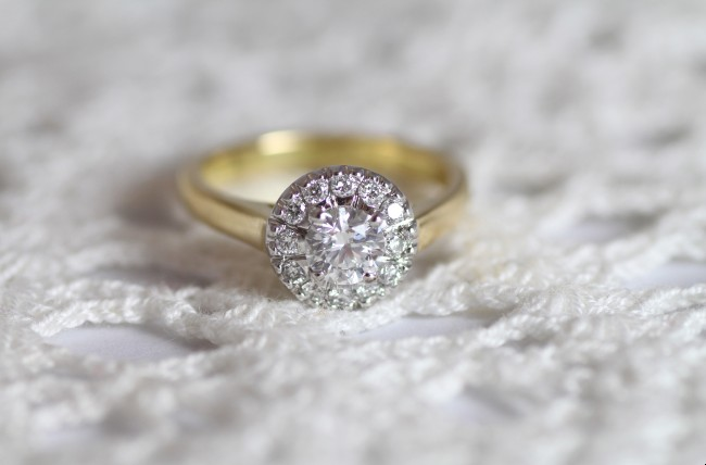 A Zoe Pook engagement ring