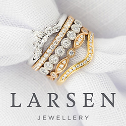 Larsen Jewellery Made banner