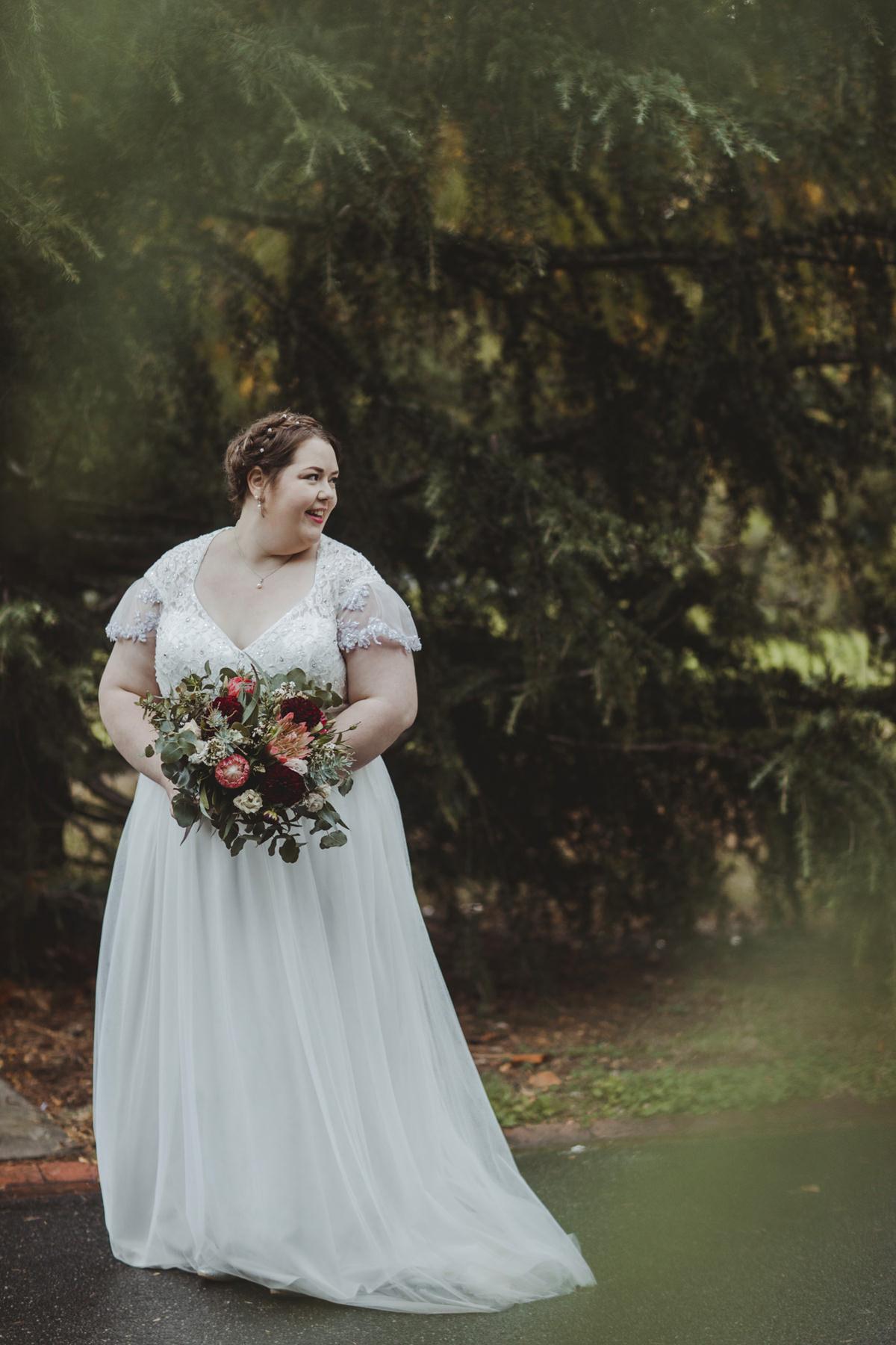 Leah S Designs Melbourne Wedding Gowns   Polka Dot Wedding