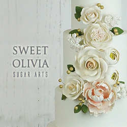Sweet Olivia Sugar Arts Made banner