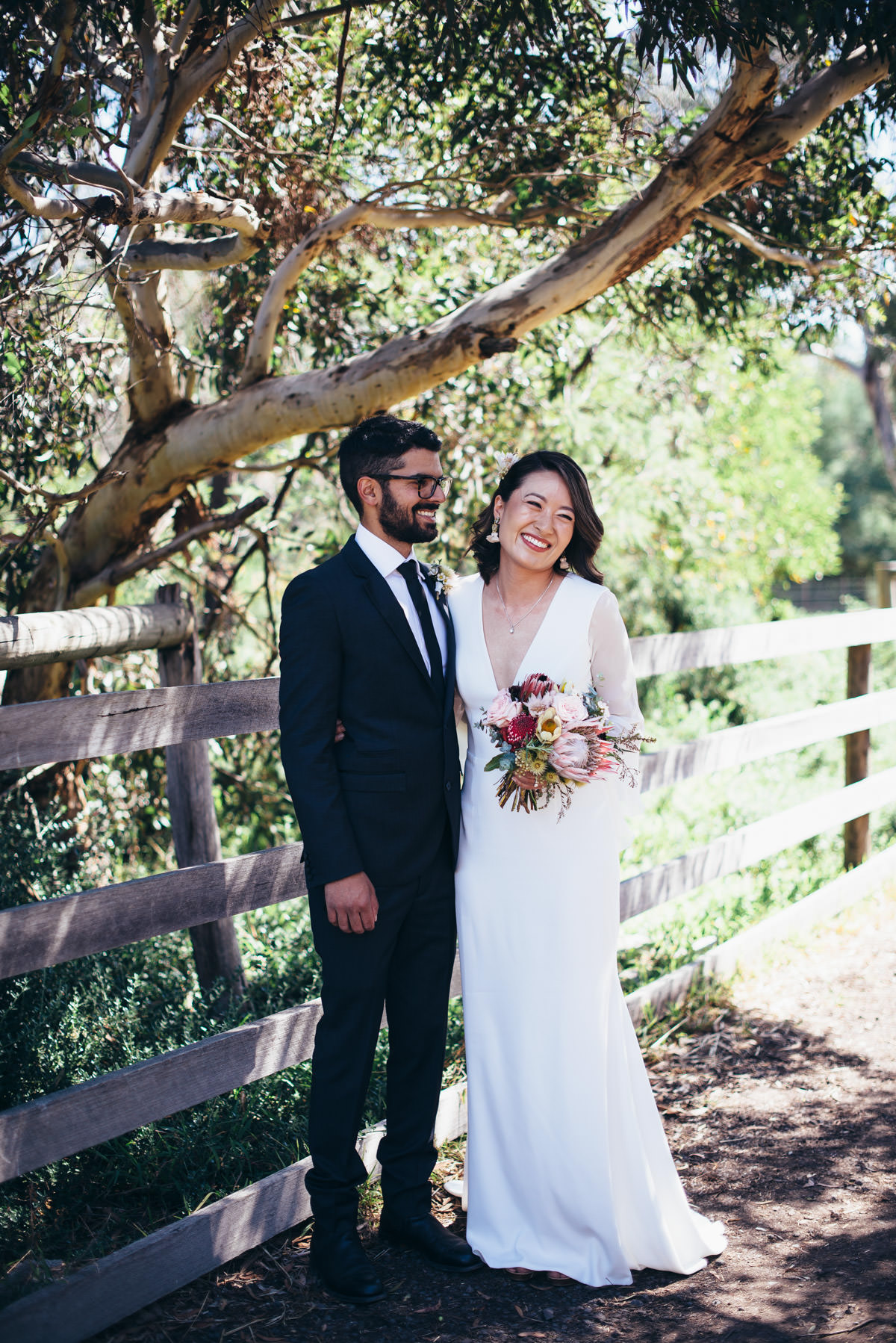 Tiffany & Reuben's Relaxed Cocktail Wedding At Collingwood Children's Farm