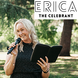 Erica The Celebrant Weddings banner