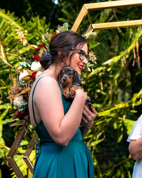 cutest wedding surprise