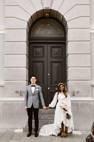 Divia & Wei's Outdoor Manners Hill Picnic Wedding