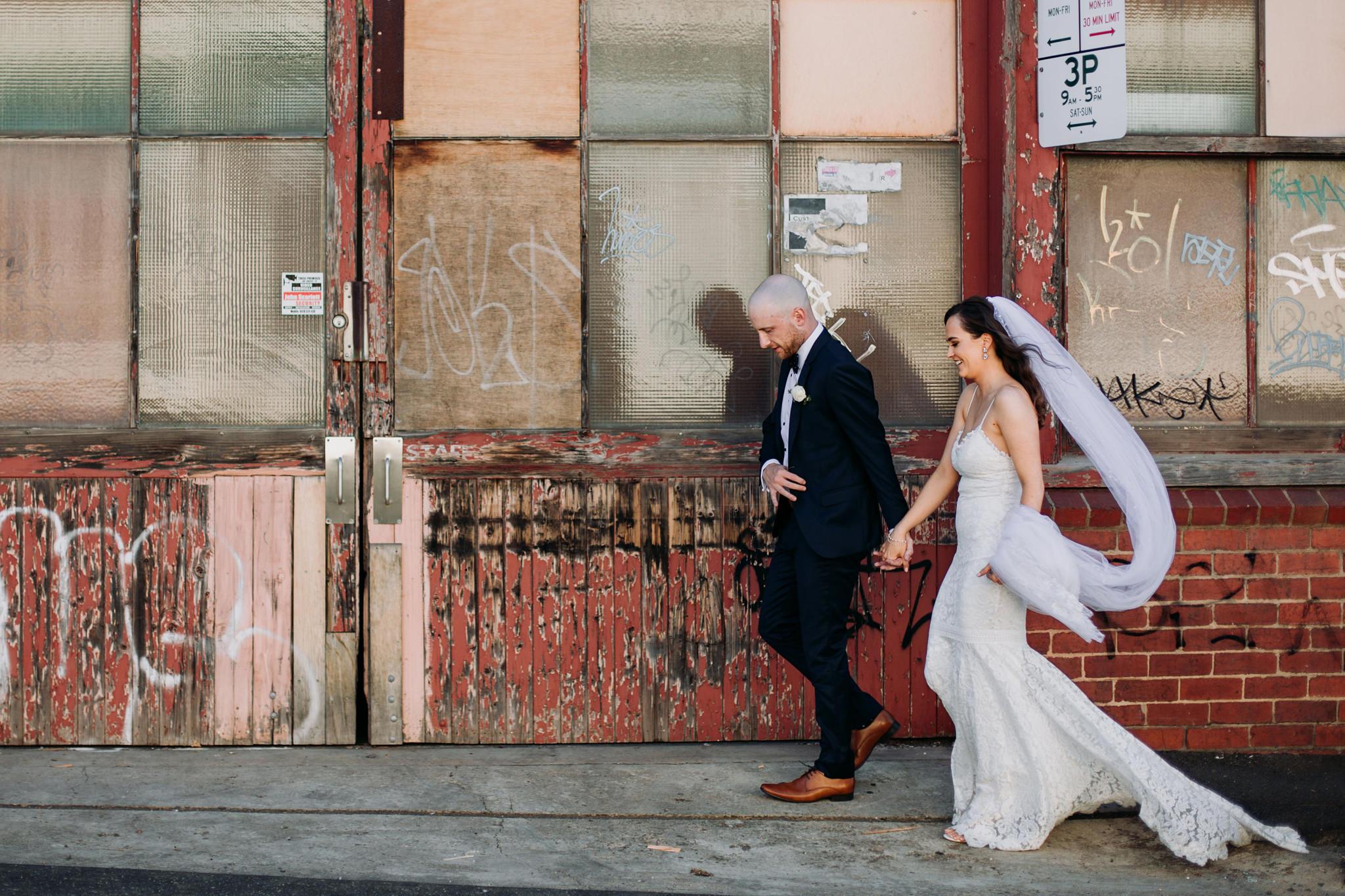 Elegant Geelong Warehouse Wedding - Polka Dot Wedding