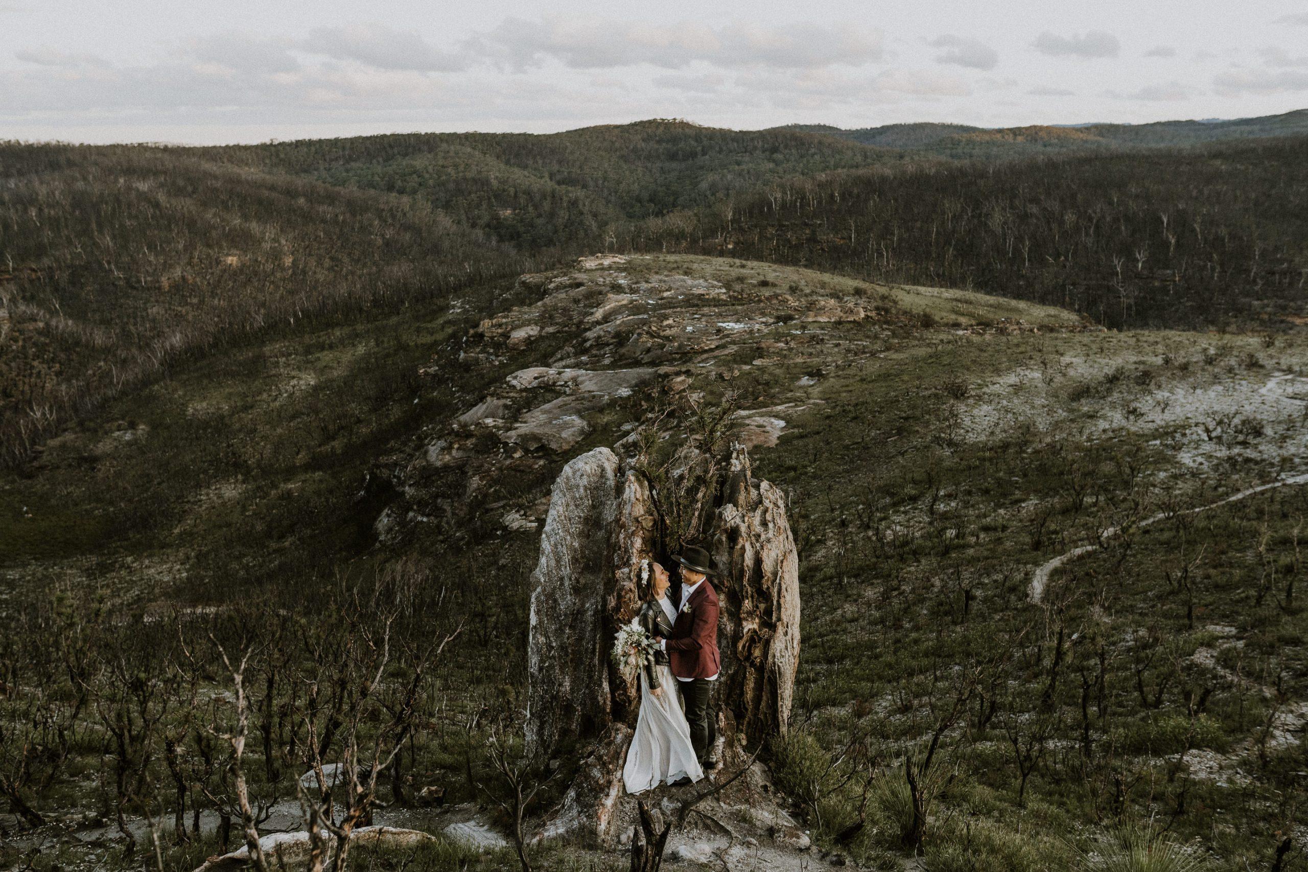 Romantic Blue Mountains Elopement Inspiration