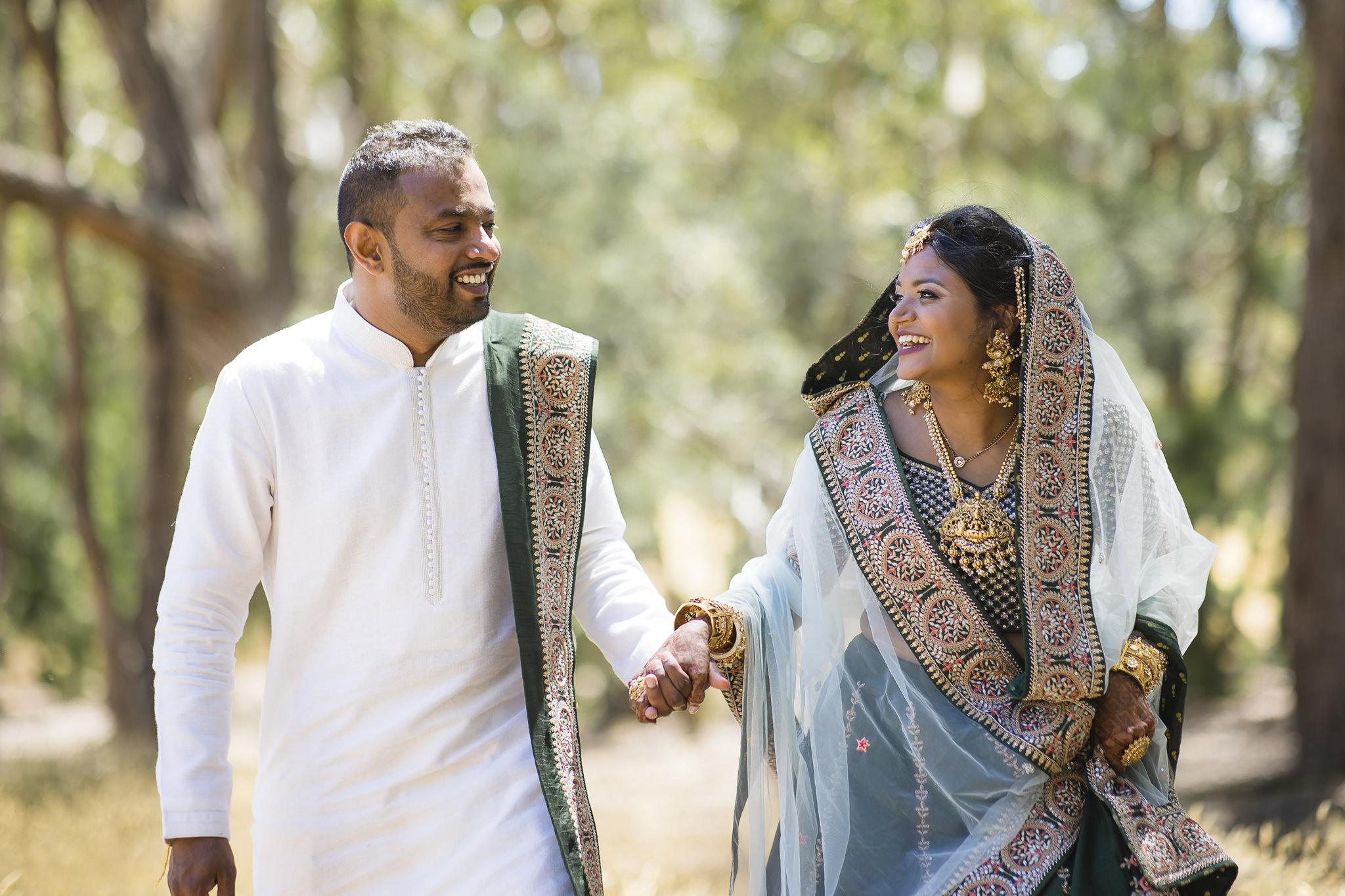 Vandna & Shiv's At Home Haldi & Mehndi Wedding In Daylesford