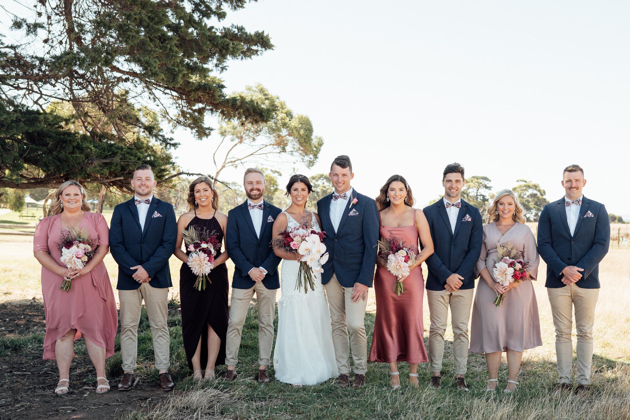 Lidia & Isaac's Colourful Coastal Wedding on Phillip Island