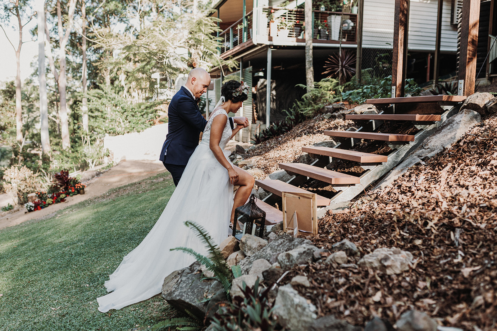 Planning For The Unexpected When Your Wedding Is At Home